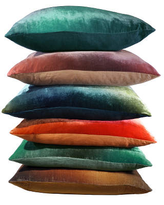 Kevin O'Brien Studio Velvet Ombre Gradients Floor Pillow
